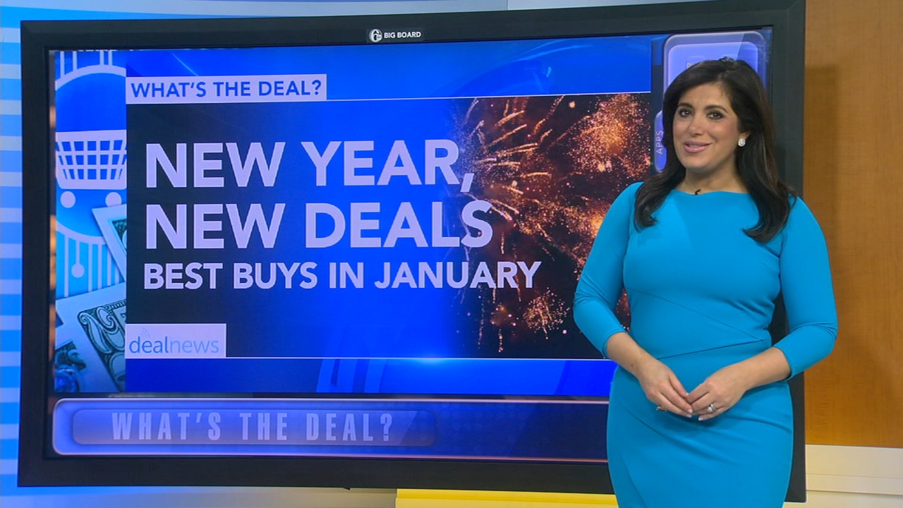 Whats the Deal: Best January buys. Alicia Vitarelli reports during Action News at 4:30 p.m. on December 31, 2018.