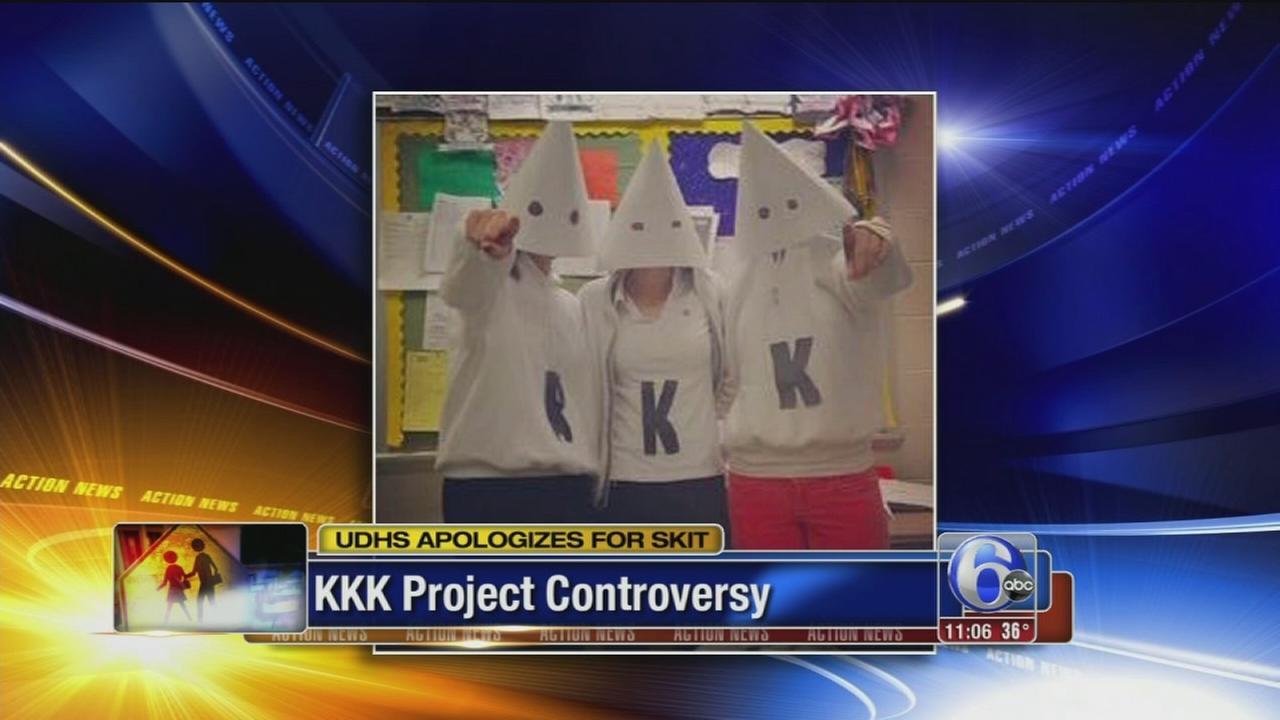 VIDEO: KKK project controversy