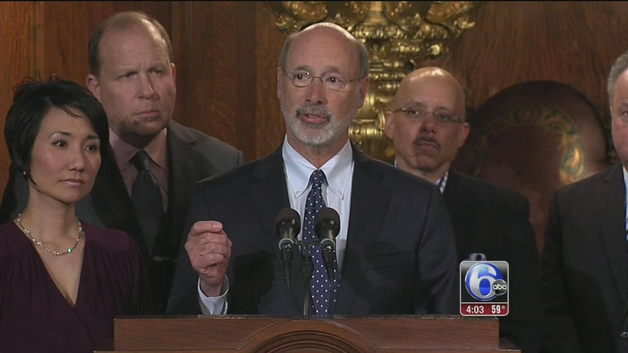 VIDEO: Gov. Tom Wolf raises minimum wage for Pa. state workers