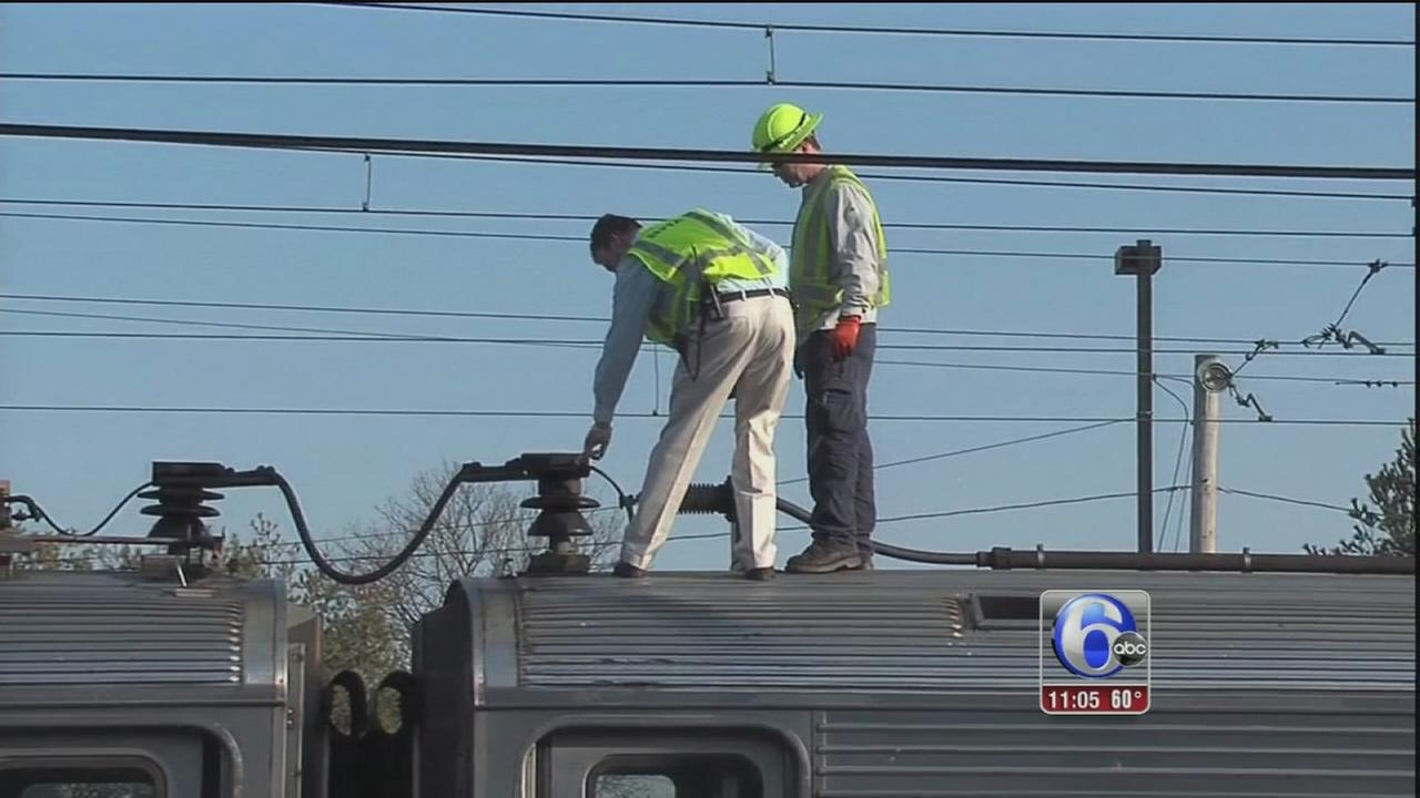 VIDEO: Police officer sustains electrical shock in Doylestown