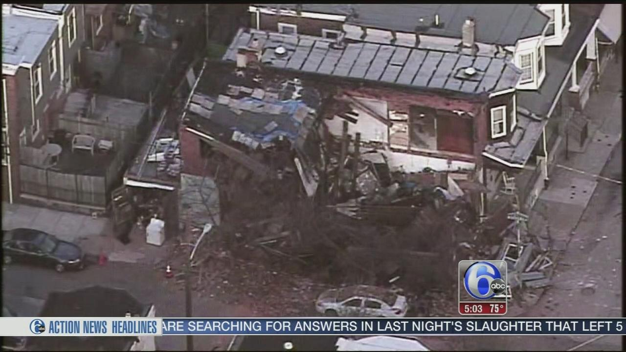 VIDEO: Investigators try to determine cause of collapse