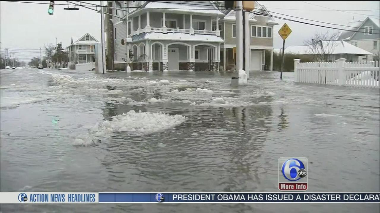 VIDEO: Obama issues disaster declaration for parts of New Jersey