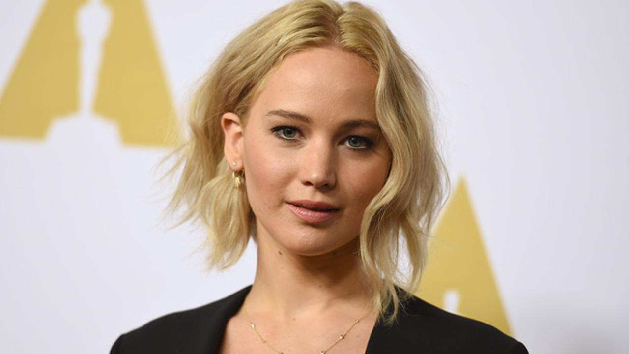 Jennifer Lawrence arrives at the 88th Academy Awards Nominees Luncheon at The Beverly Hilton hotel on Monday, Feb. 8, 2016, in Beverly Hills, Calif.