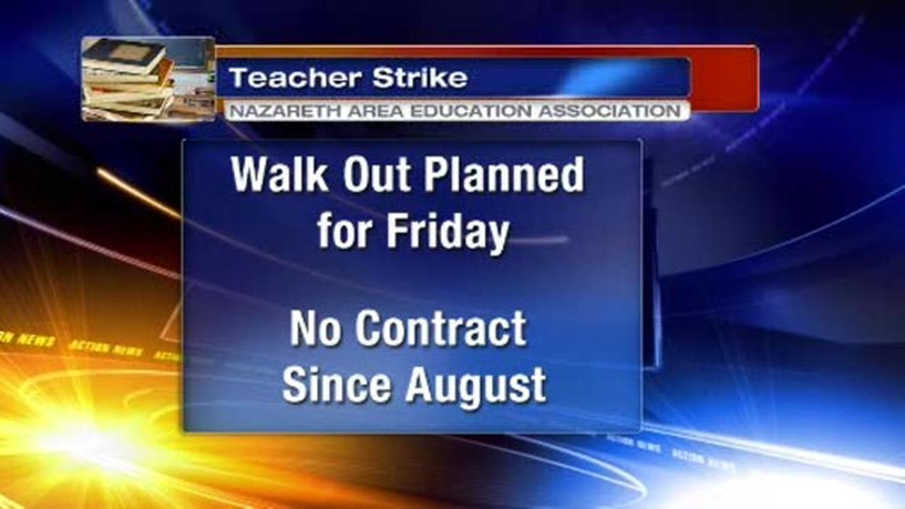 Nazareth teachers to strike Friday after proposal rejected