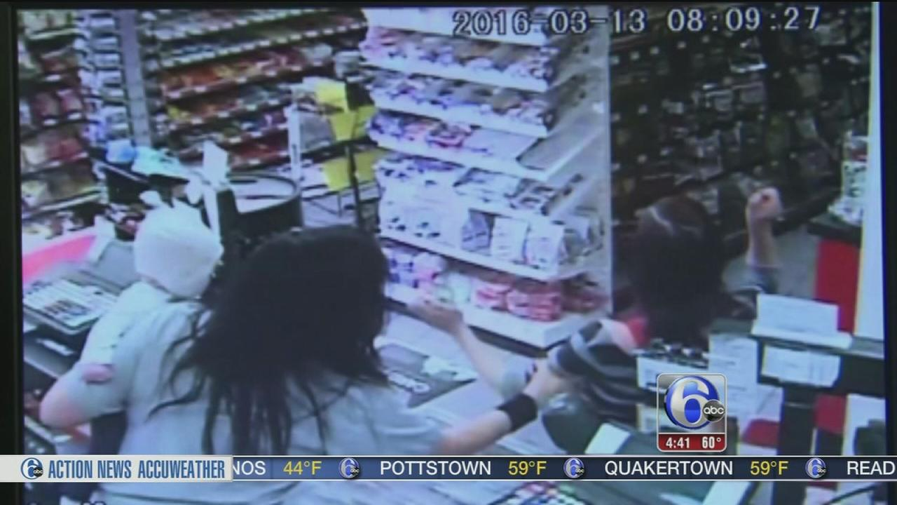 VIDEO: Clerk grabs baby as mom collapses in store