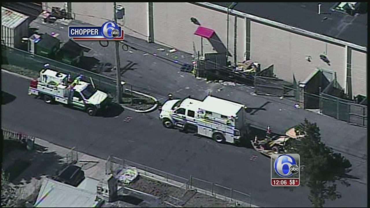 VIDEO: Gas leak forces evacuation at Upper Darby strip mall