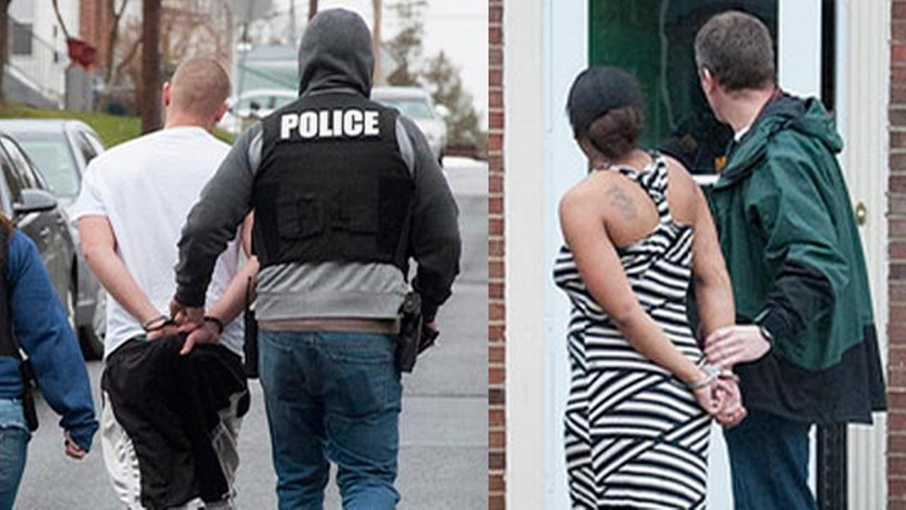 Local fugitives arrested as part of sweep by US Marshals (PHOTOS)
