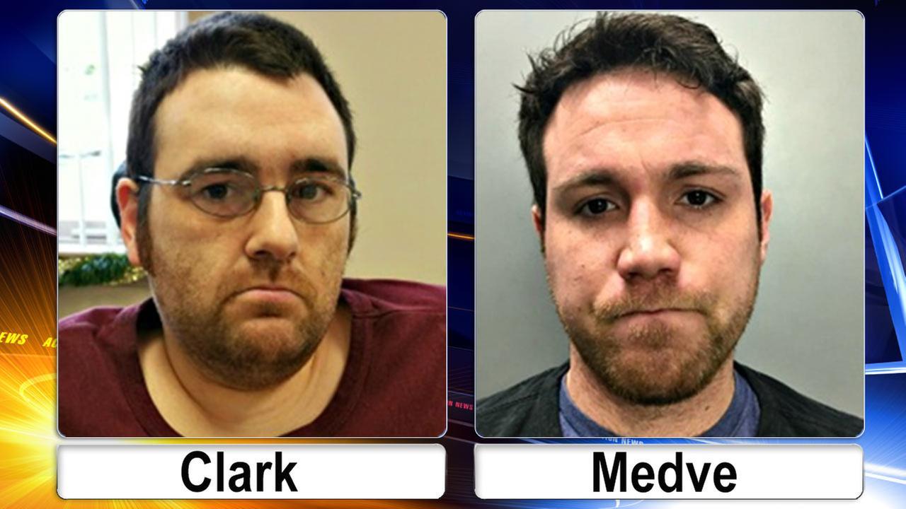Daniel Clark and Peter Medve
