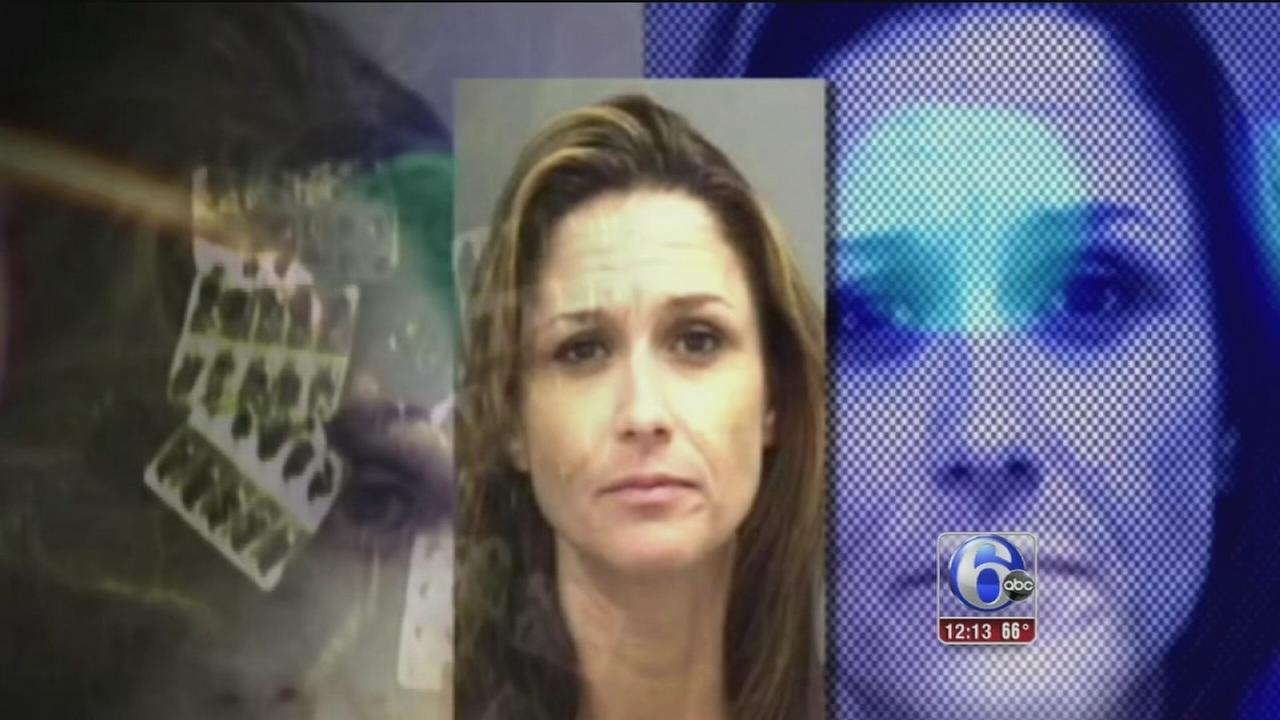 VIDEO: Police bust mall meth lab
