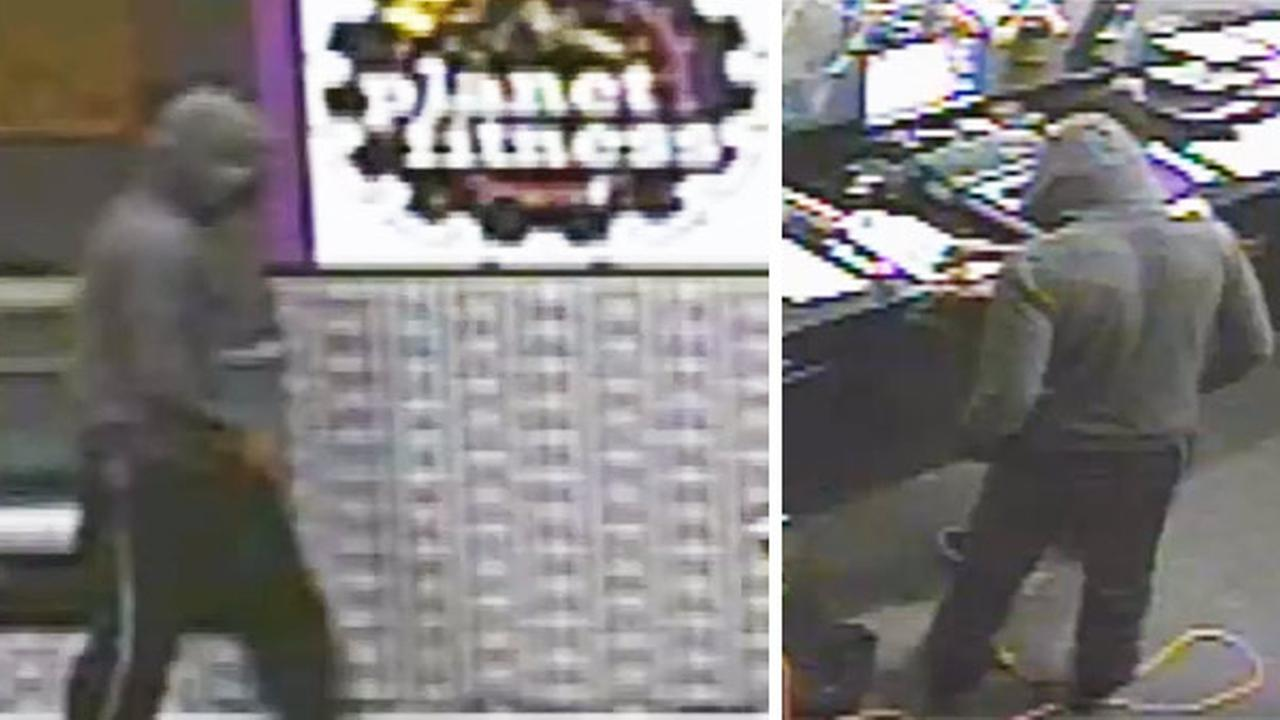Pictured: The suspect wanted for the robbery of a Planet Fitness in the 6200 block of Ridge Avenue on Thursday, March 24th.