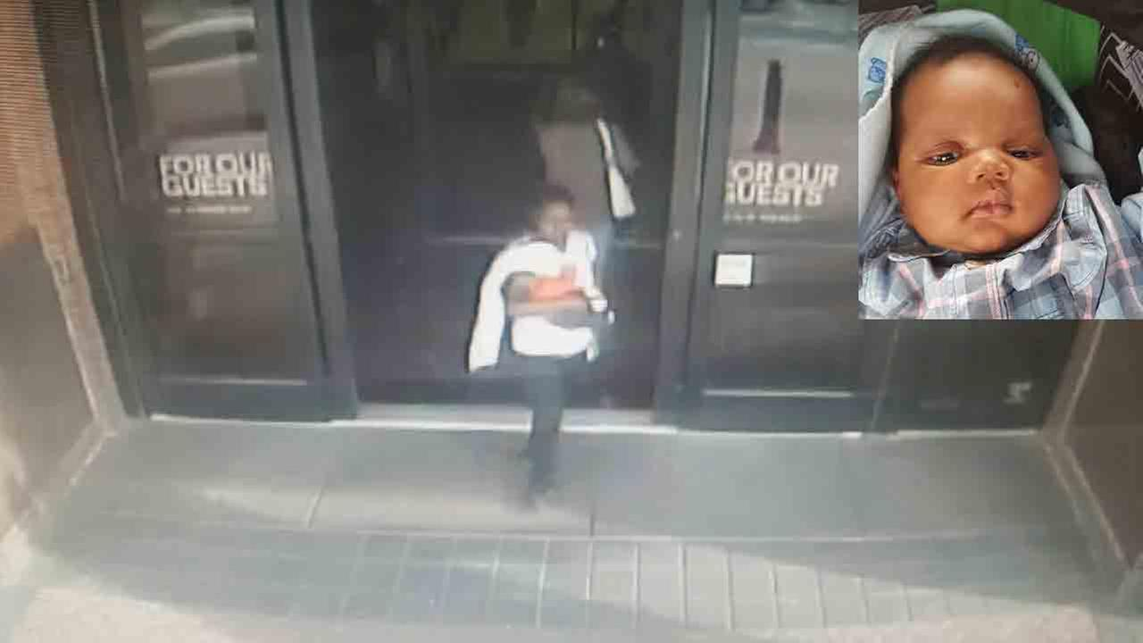 Upper Merion Township police are looking for a woman accused of kidnapping a 7-week-old baby boy from King of Prussia Mall.