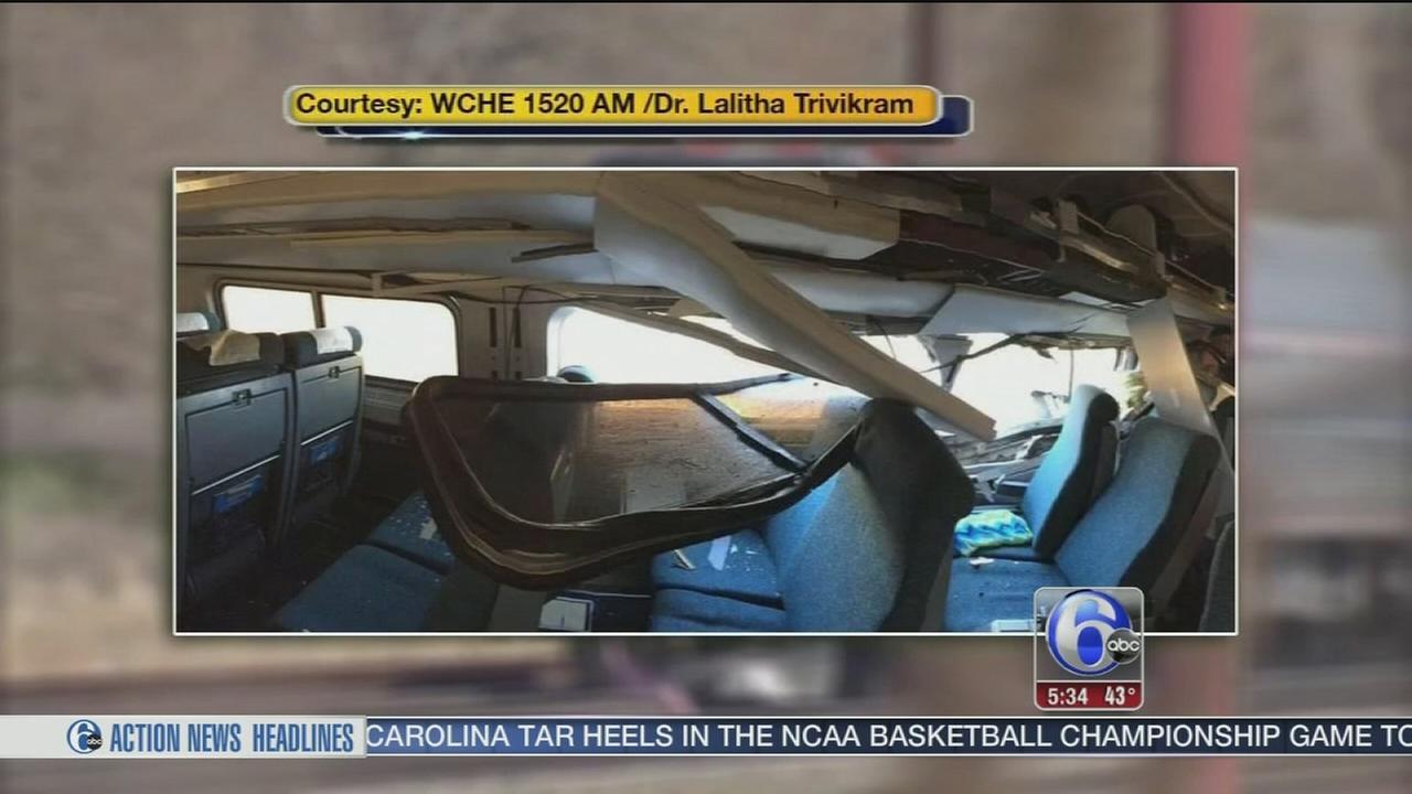 VIDEO: Service resumes after Amtrak crash