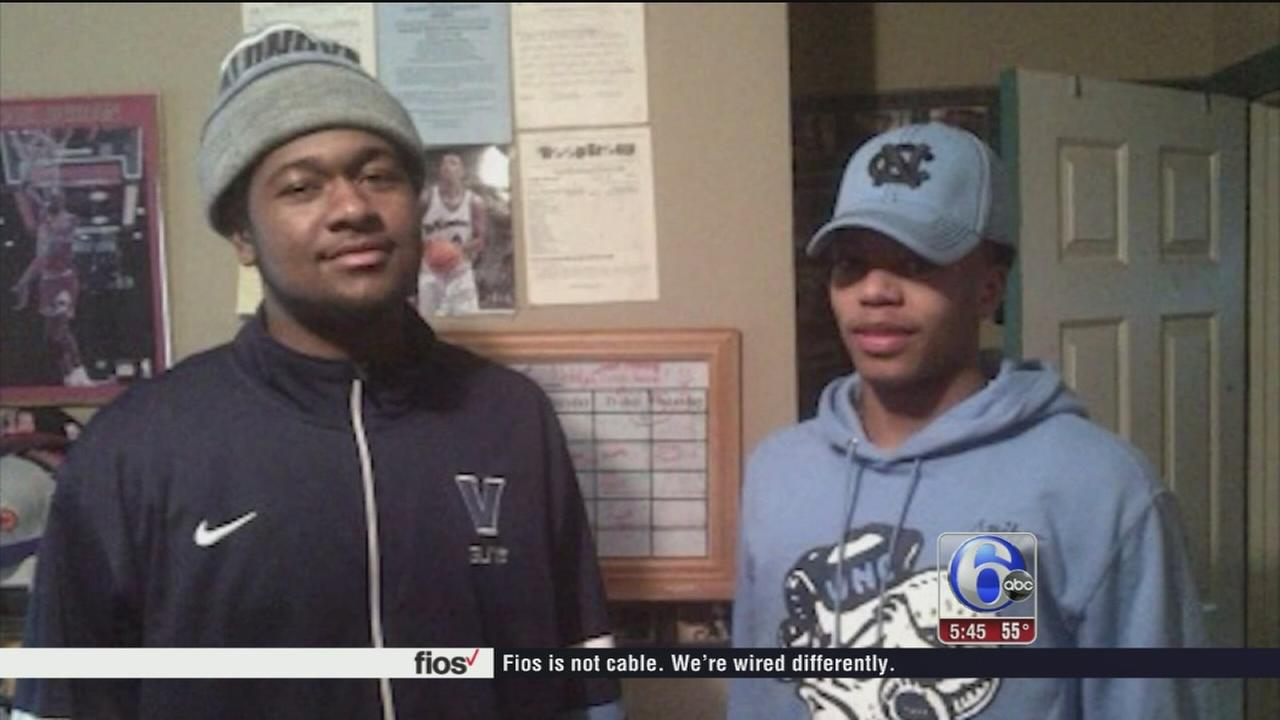 VIDEO: Family affair for Kris Jenkins