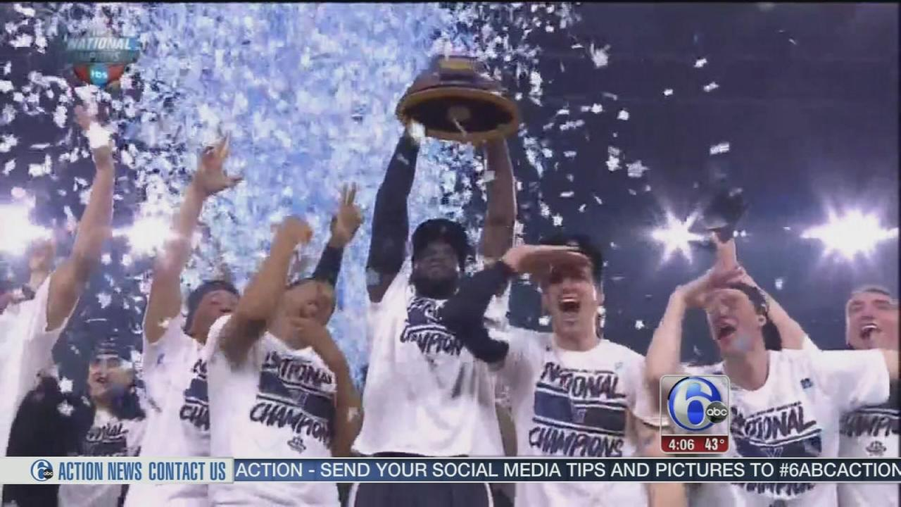 VIDEO: Villanova announces parade plans for Friday in Center City