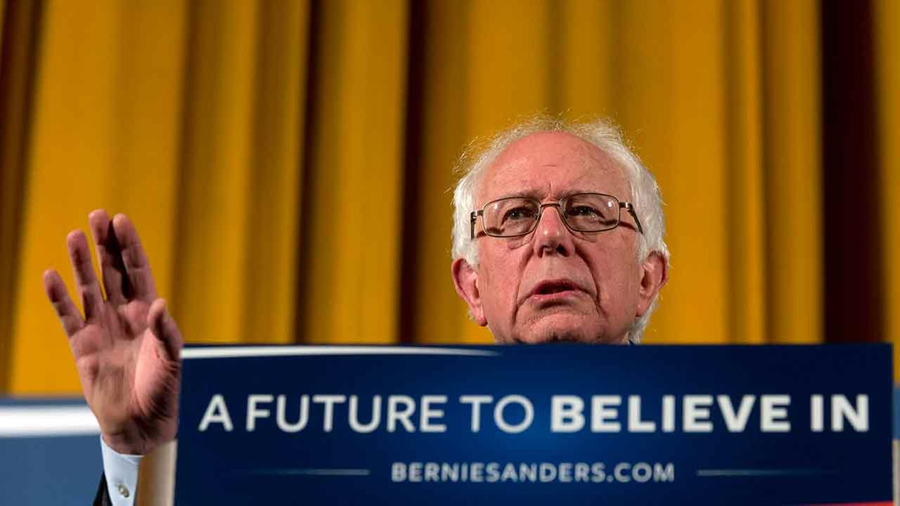 Bernie Sanders wins Democratic presidential caucuses in Wyoming
