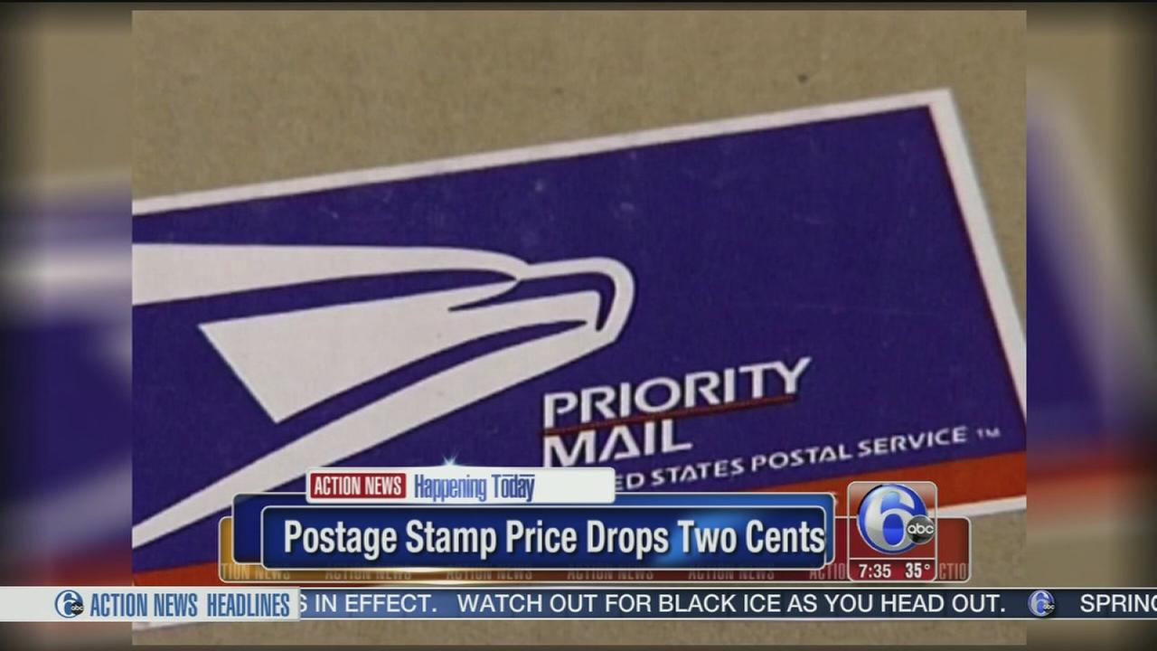 VIDEO: Cost of mailing a letter drops to 47 cents