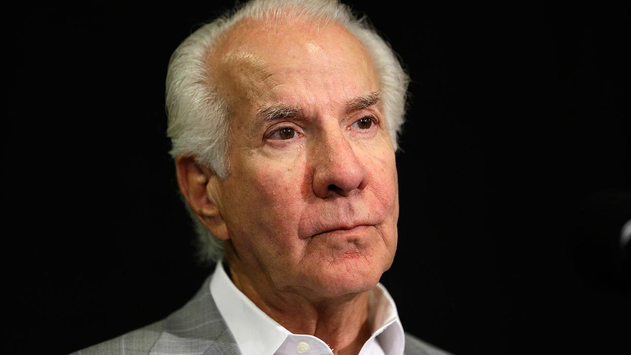 This is a July 9, 2013, file photo showing Philadelphia Flyers chairman Ed Snider during a news conference in Philadelphia.