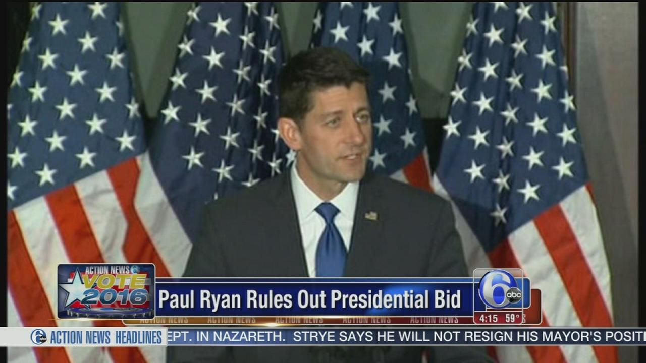 VIDEO: Paul Ryan rules out presidential bid