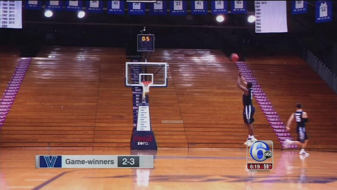 VIDEO: Villanova reenacts the game winning shot