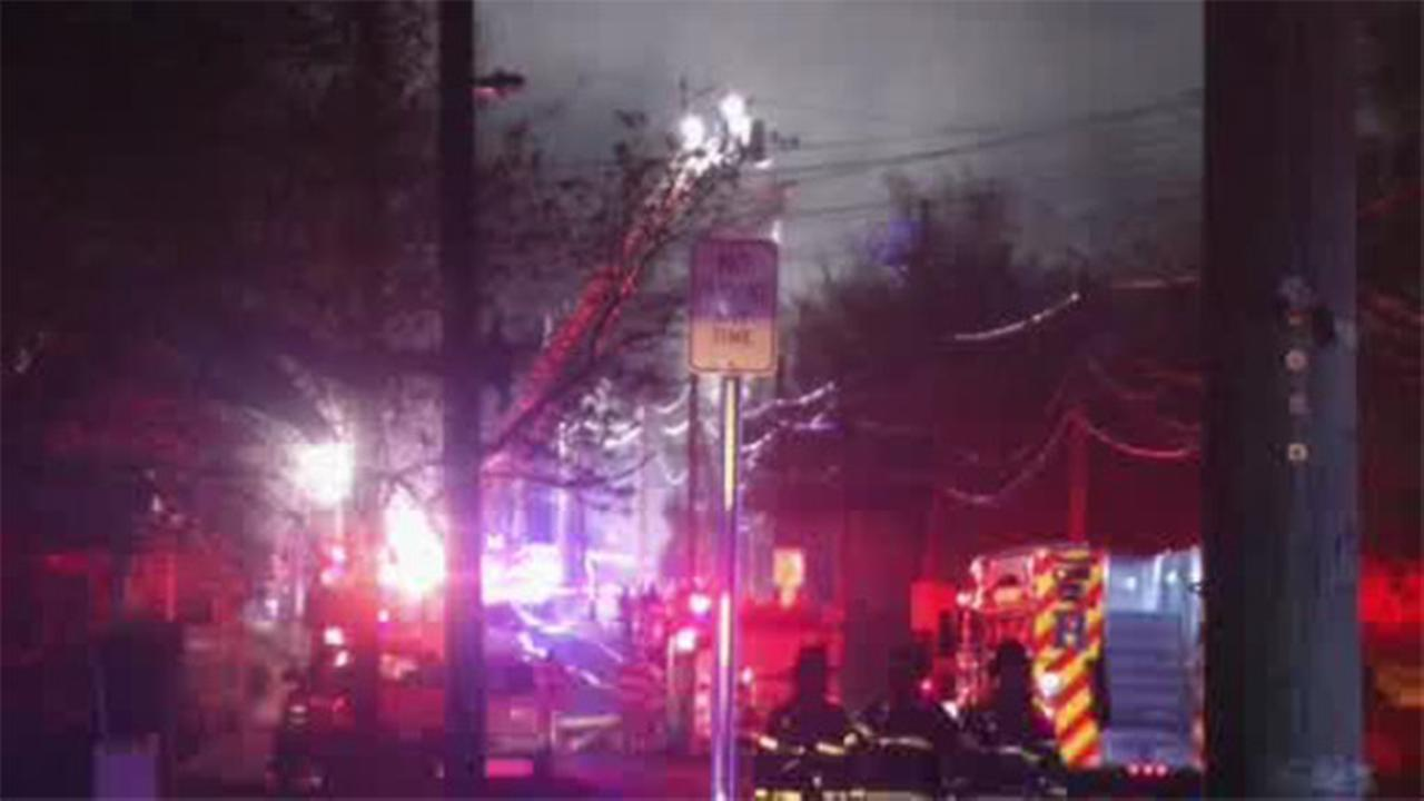 3-alarm fire damages commercial building in Bridgeton