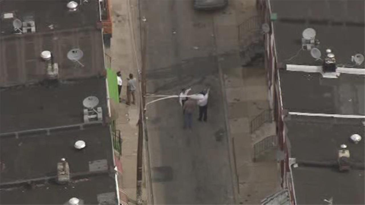 Man found shot lying on North Philadelphia street