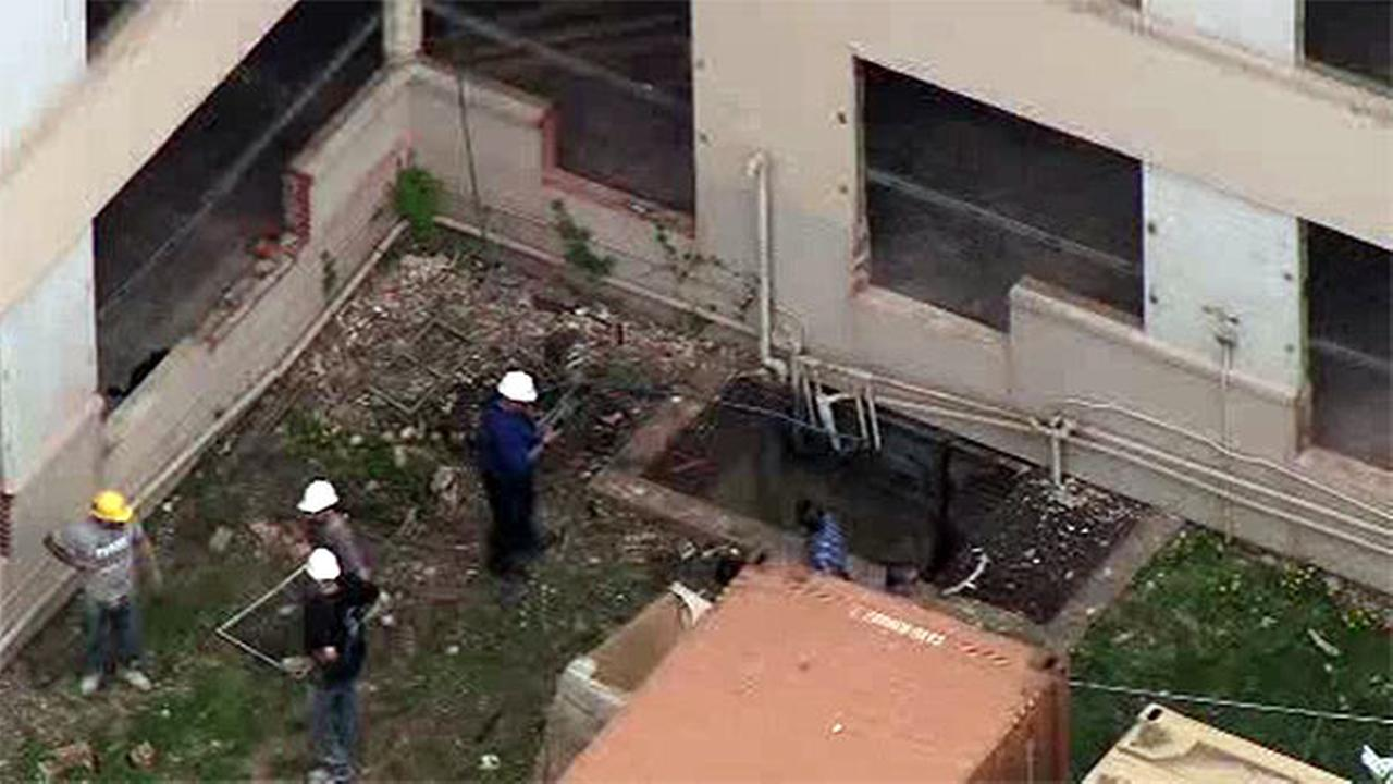 Trapped worker rescued from construction site in Wynnefield Heights