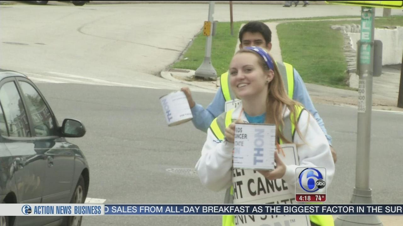 VIDEO: Penn State THON to phase out canning by 2019