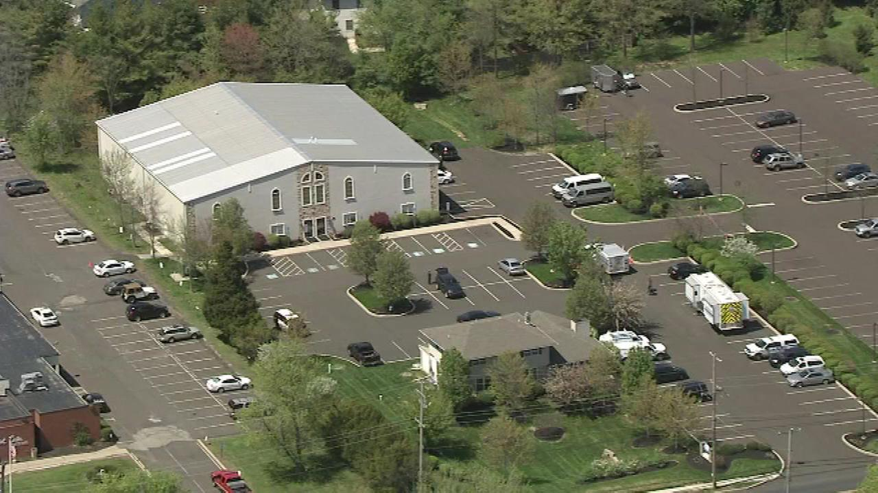 Police received reports of shots fired near a church in North Wales, Montgomery County.