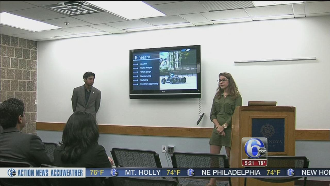 Cash award for business ideas at Villanova
