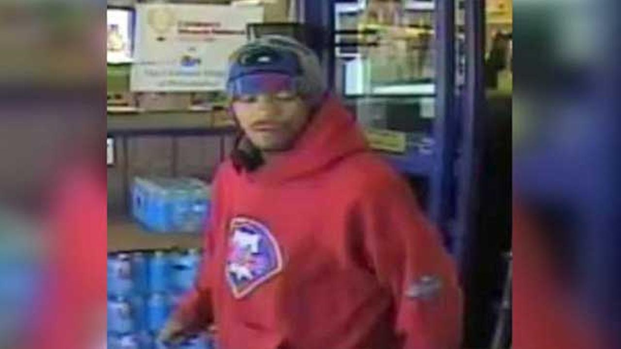 Pictured: Suspect who threatened a security guard with a needle during a robbery at Rite Aid on the 300 block of East Allegheny Avenue in North Philadelphia on April 20.