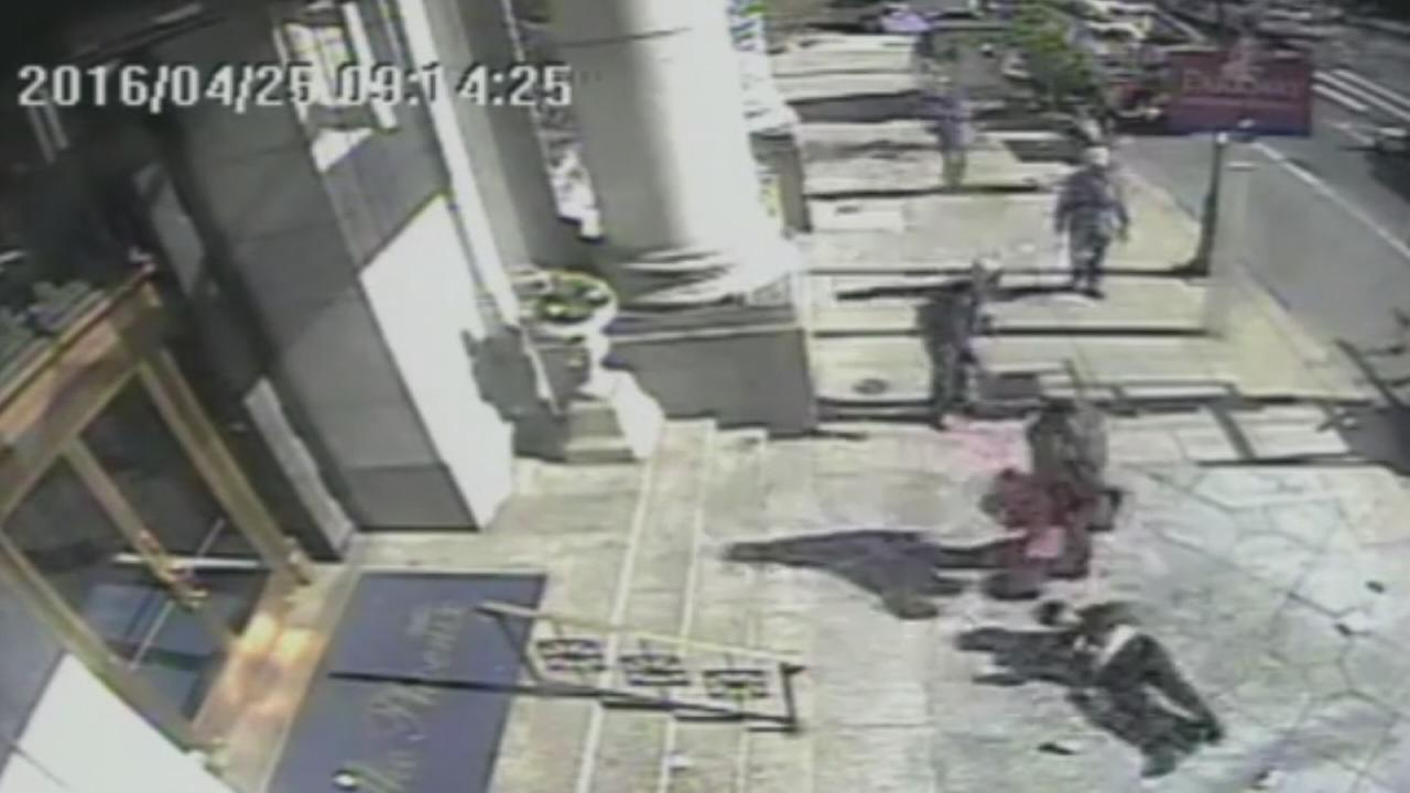 VIDEO: Woman assaulted outside Starbucks in Center City