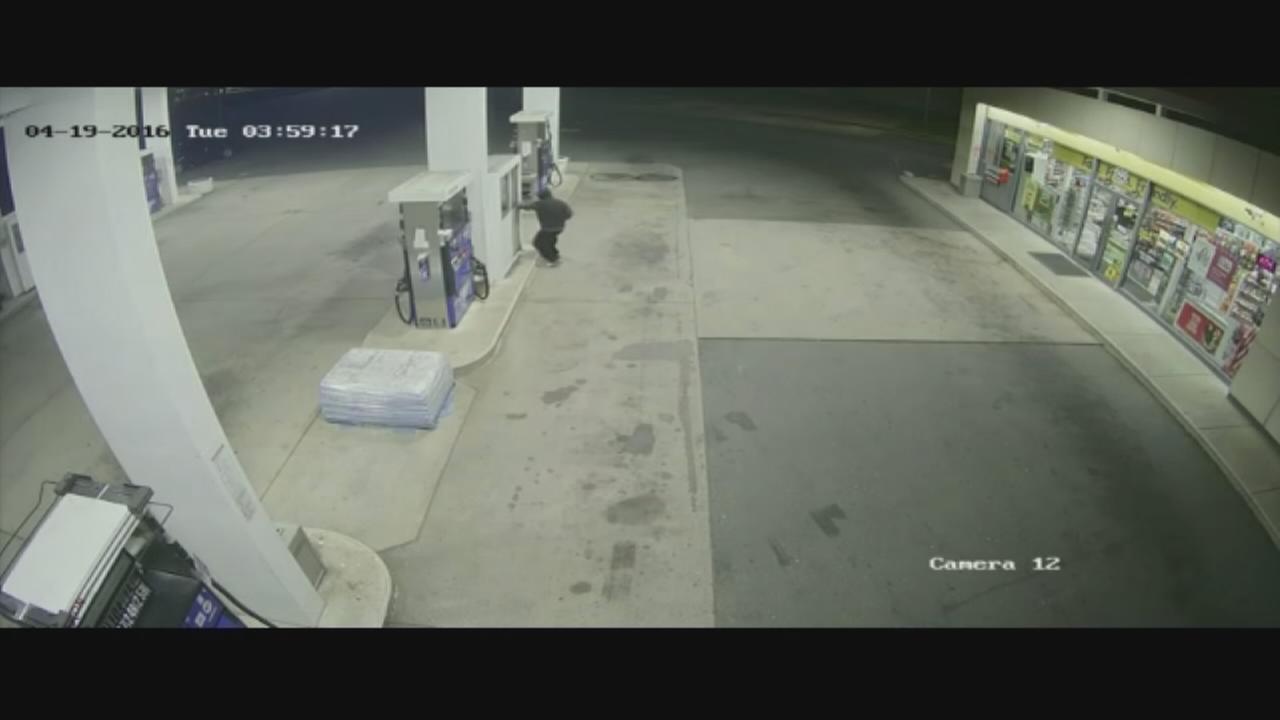 VIDEO: Armed robbery video
