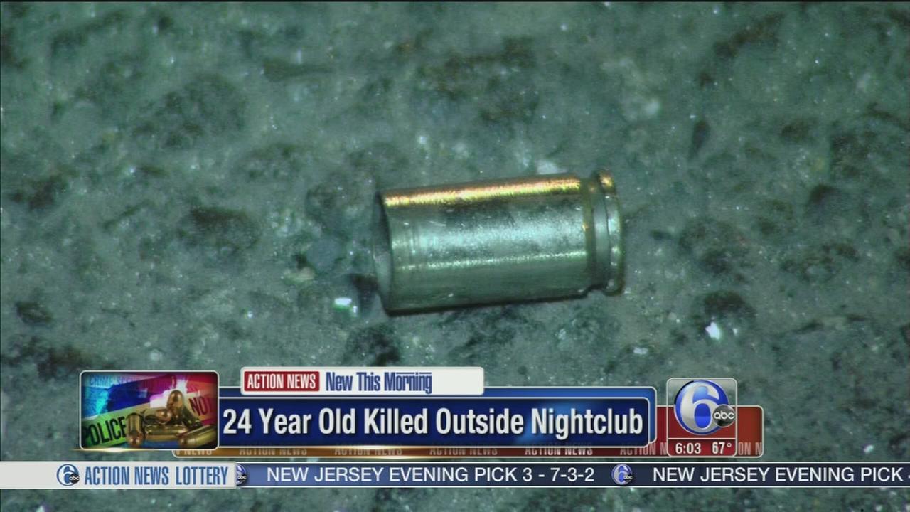 24-year-old killed outside nightclub