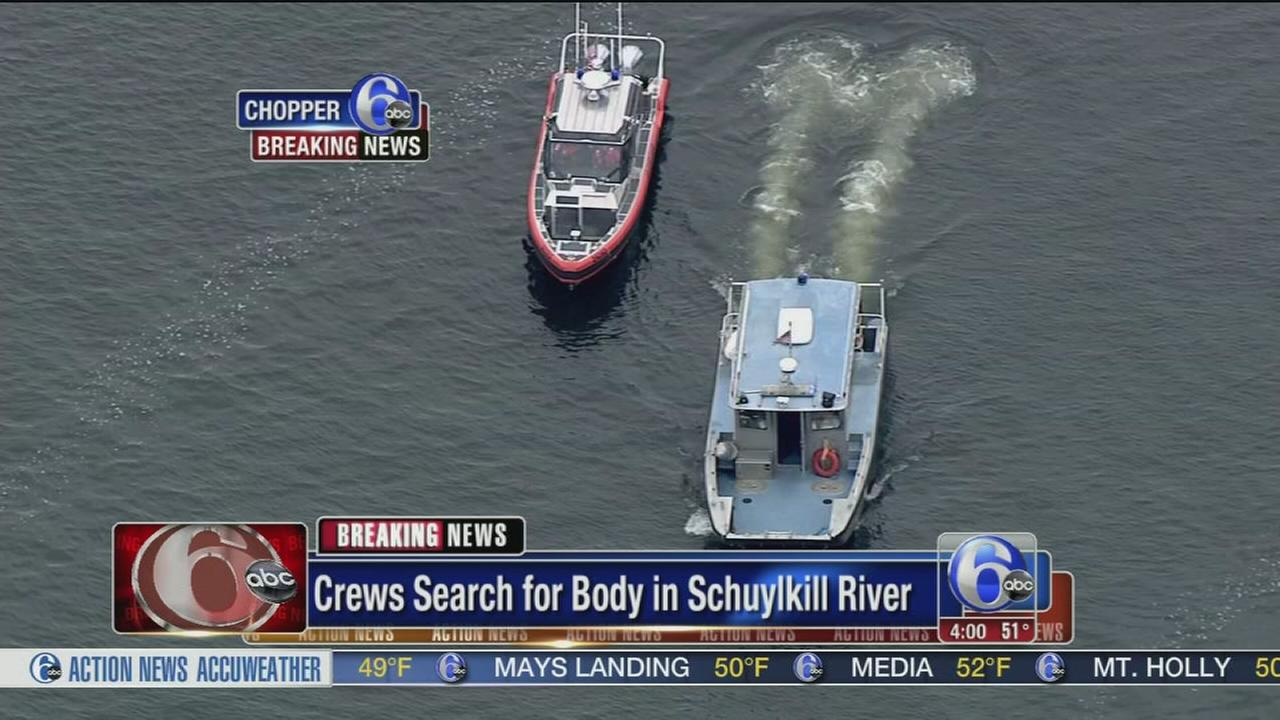 VIDEO: River body search