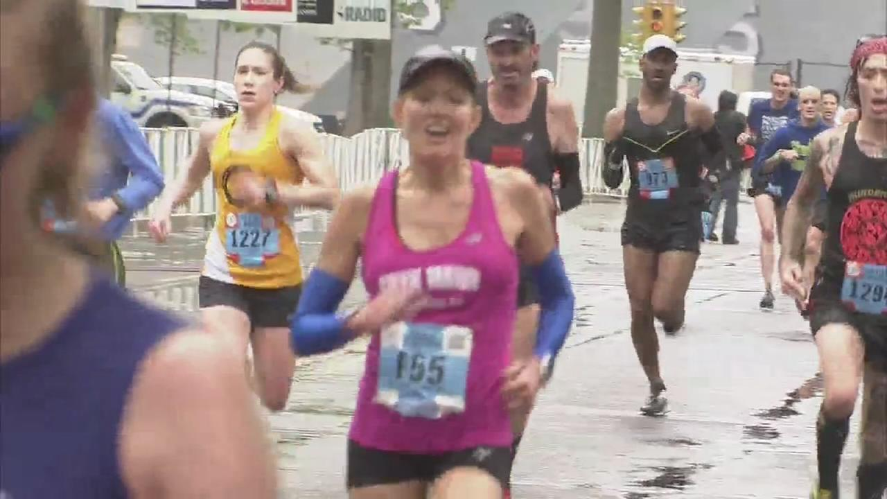 VIDEO: Cecily finishes Broad Street Run