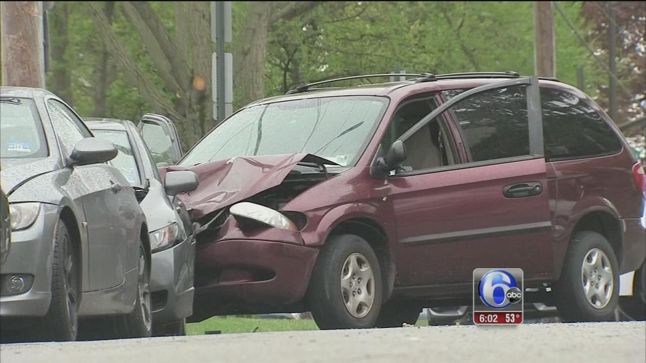 VIDEO: Police ID driver killed in officer-involved shooting in Overbrook
