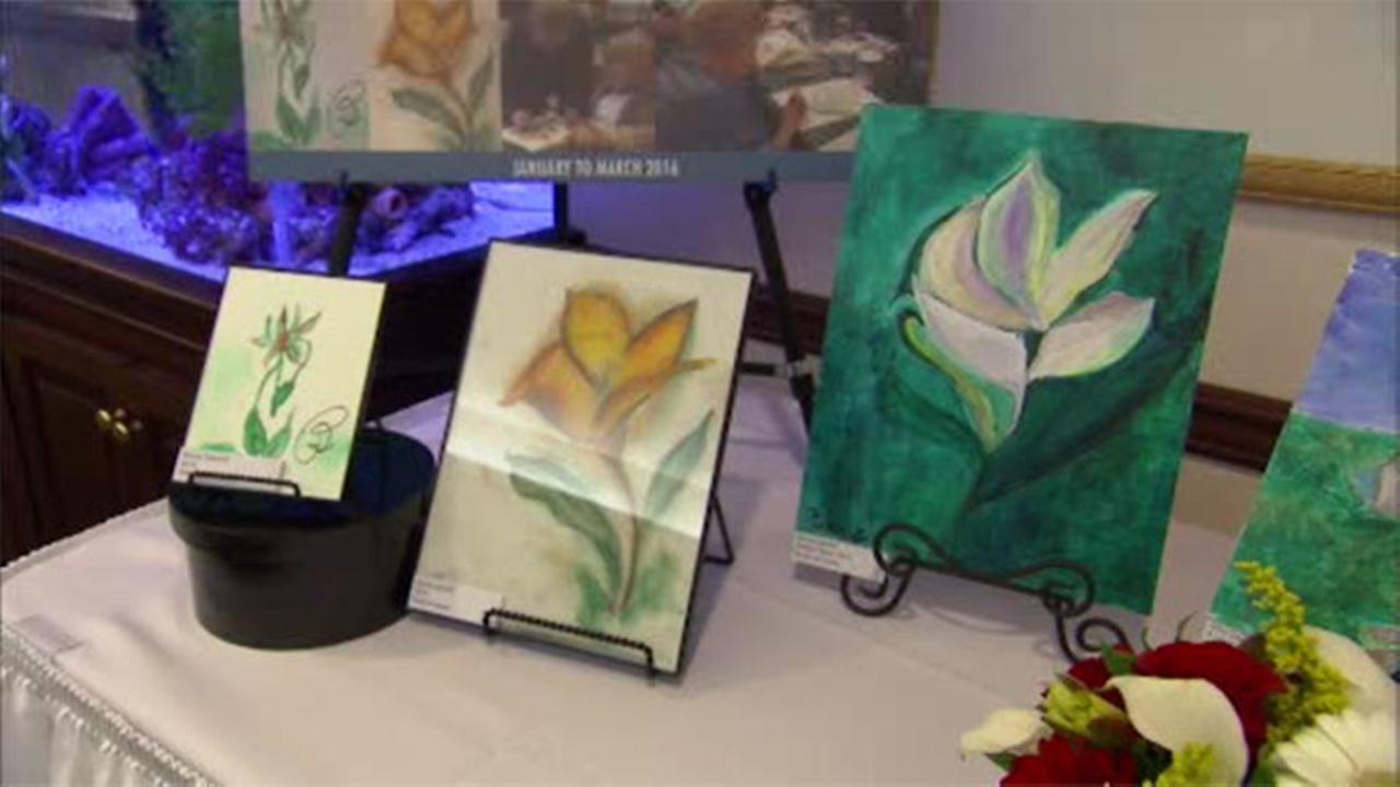 Art of Aging: Seniors make memories with paint