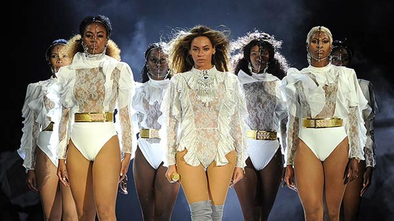 Beyonce performs during the Formation World Tour at Marlins Park on Wednesday, April 27, 2016, in Miami.