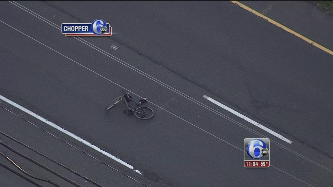 VIDEO: Bicyclist struck by car in Mercer County