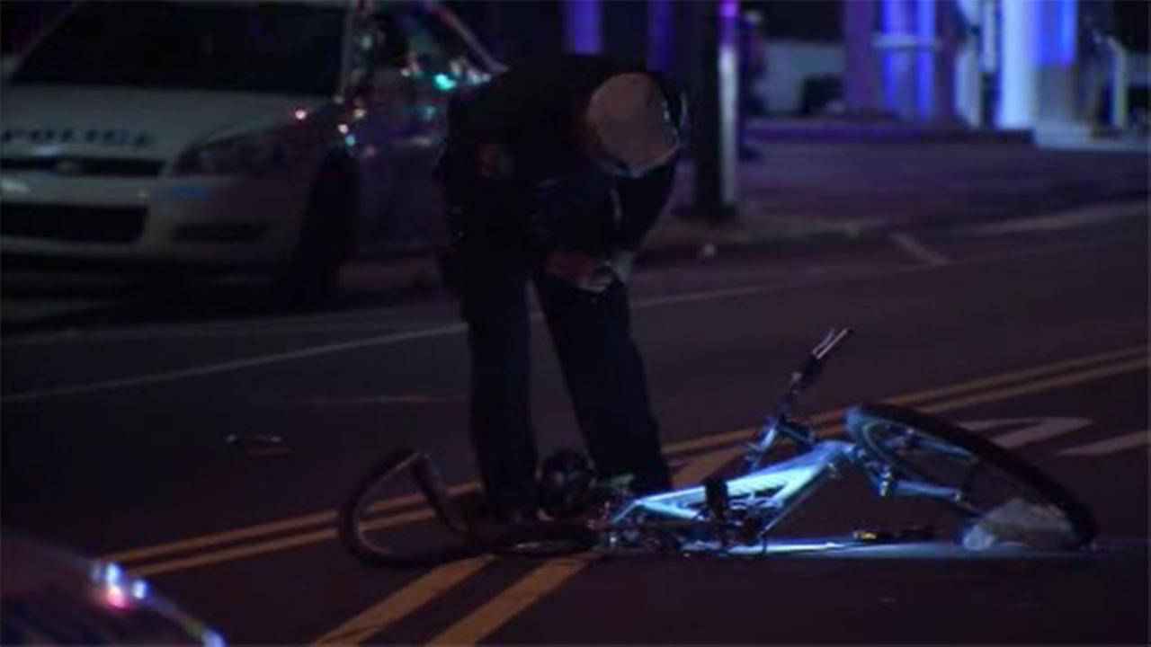 Bicyclist injured in hit-and-run in West Philadelphia