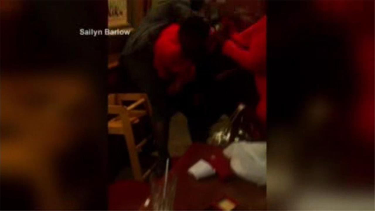 Mothers Day brawl caught on camera