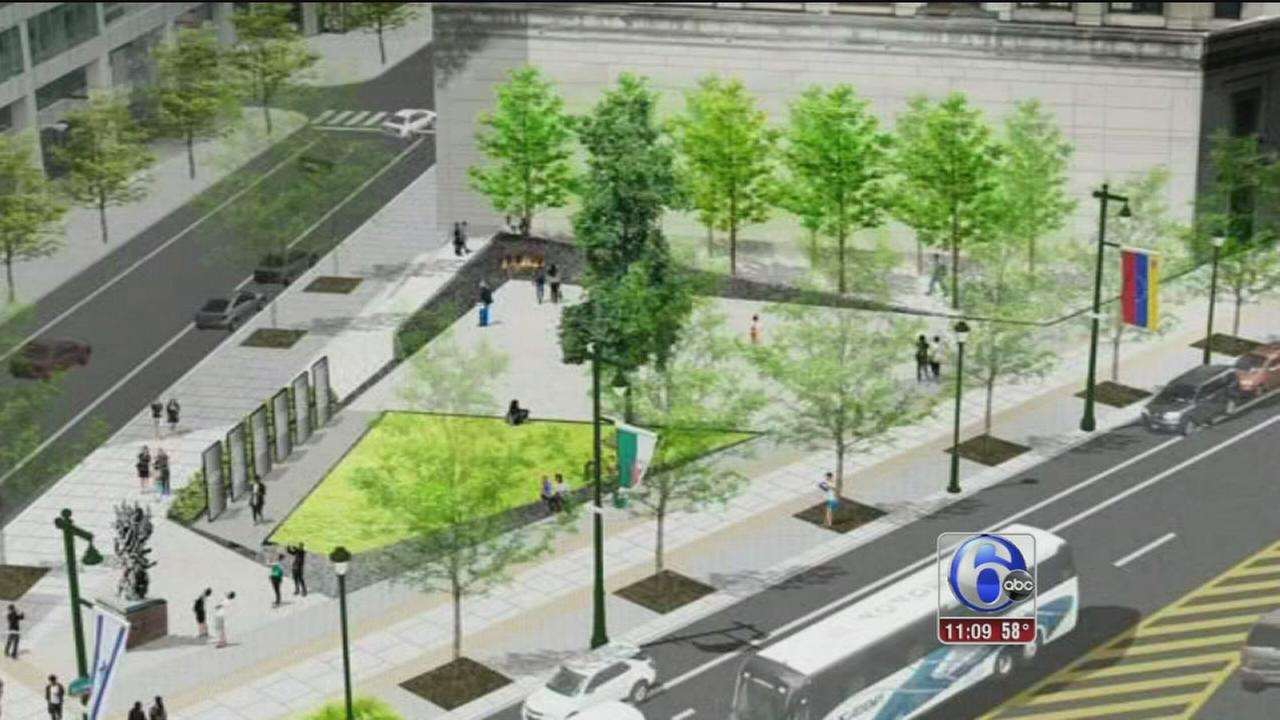 VIDEO: Memorial plaza to remember Holocaust victims