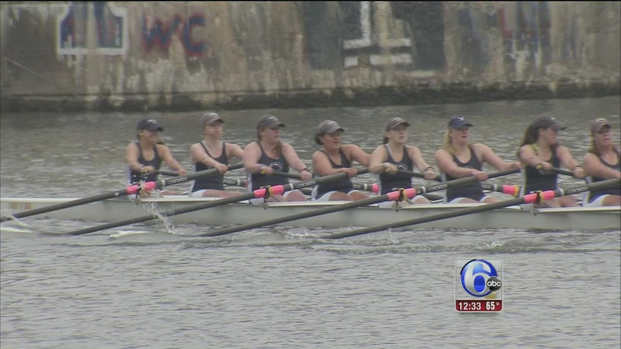 VIDEO: Dad Vail Regatta begins in Philadelphia