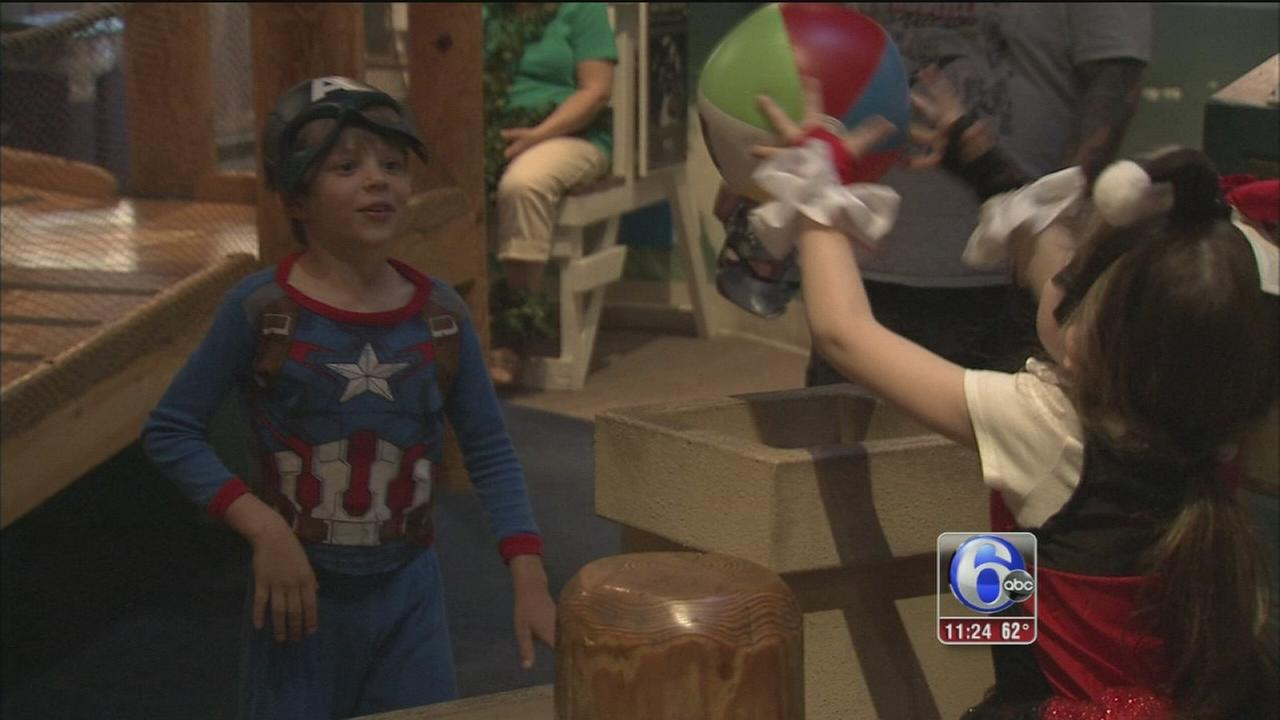 Calling all superheroes at the Discovery Museum