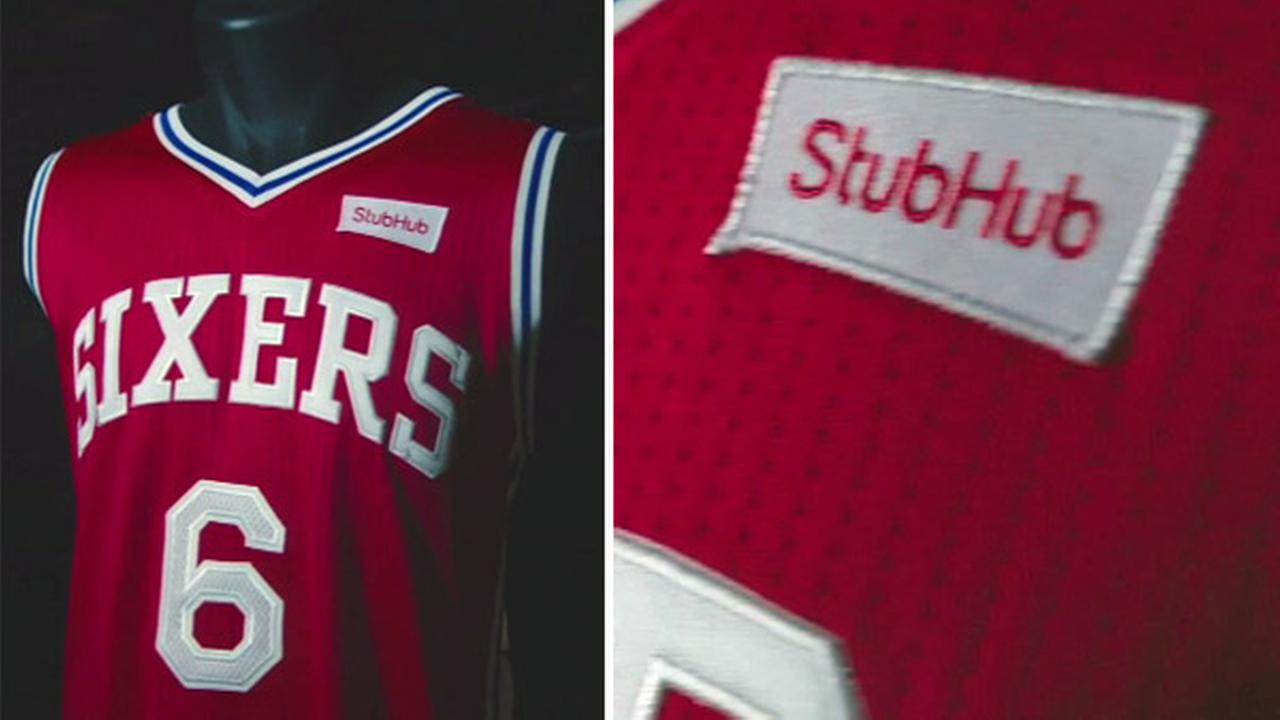 Philadelphia 76ers sell first NBA jersey ad