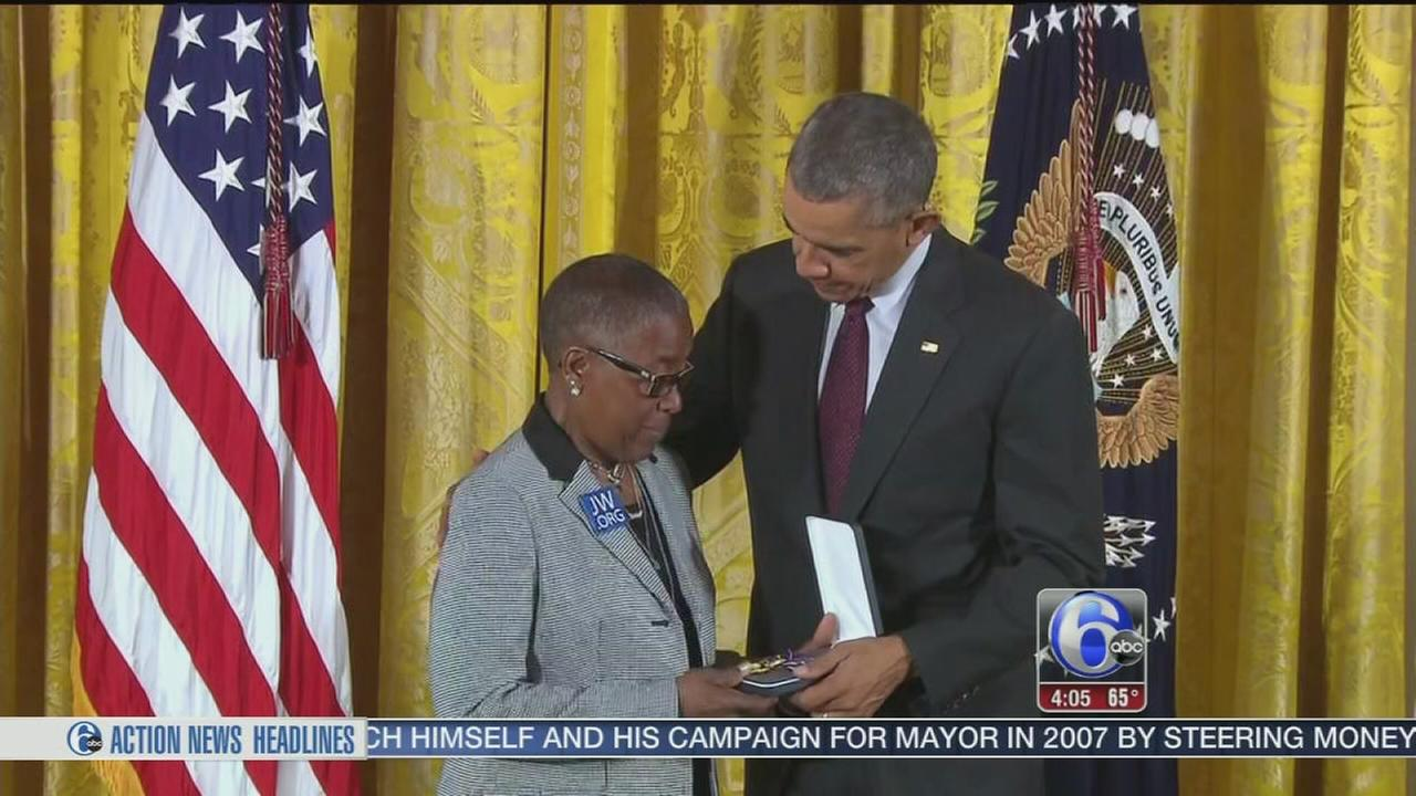 VIDEO: Fallen Sgt. Robert Wilson III receives Medal of Valor