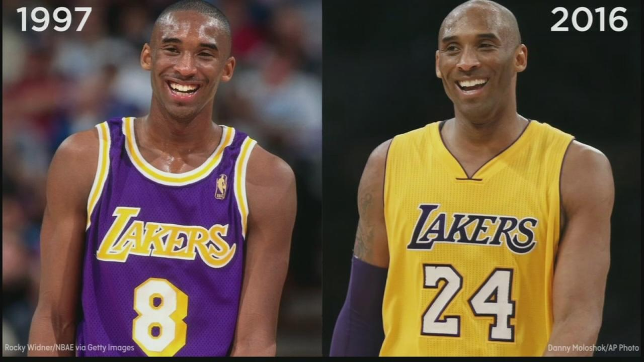 VIDEO: NBA stars then and now