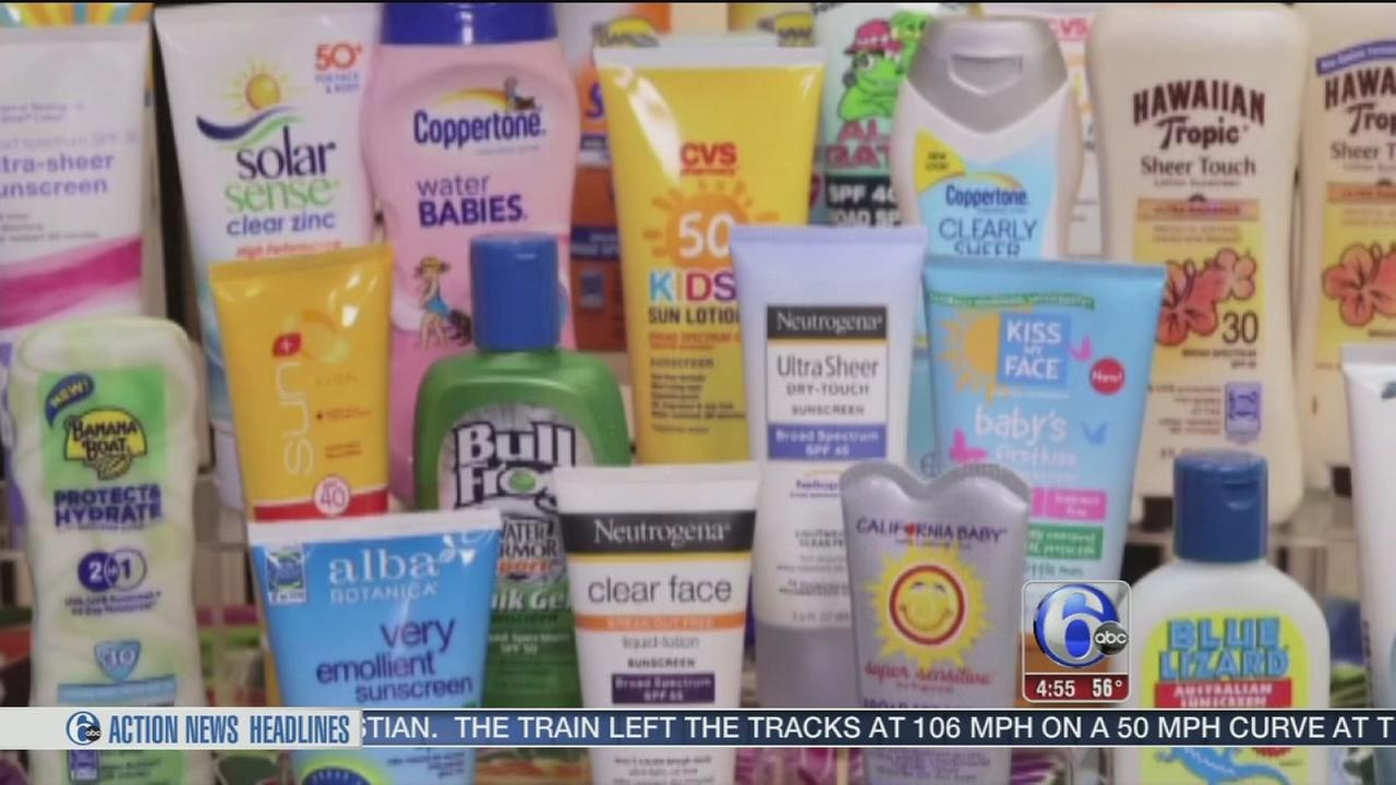 VIDEO: Consumer Reports tests best sunscreens