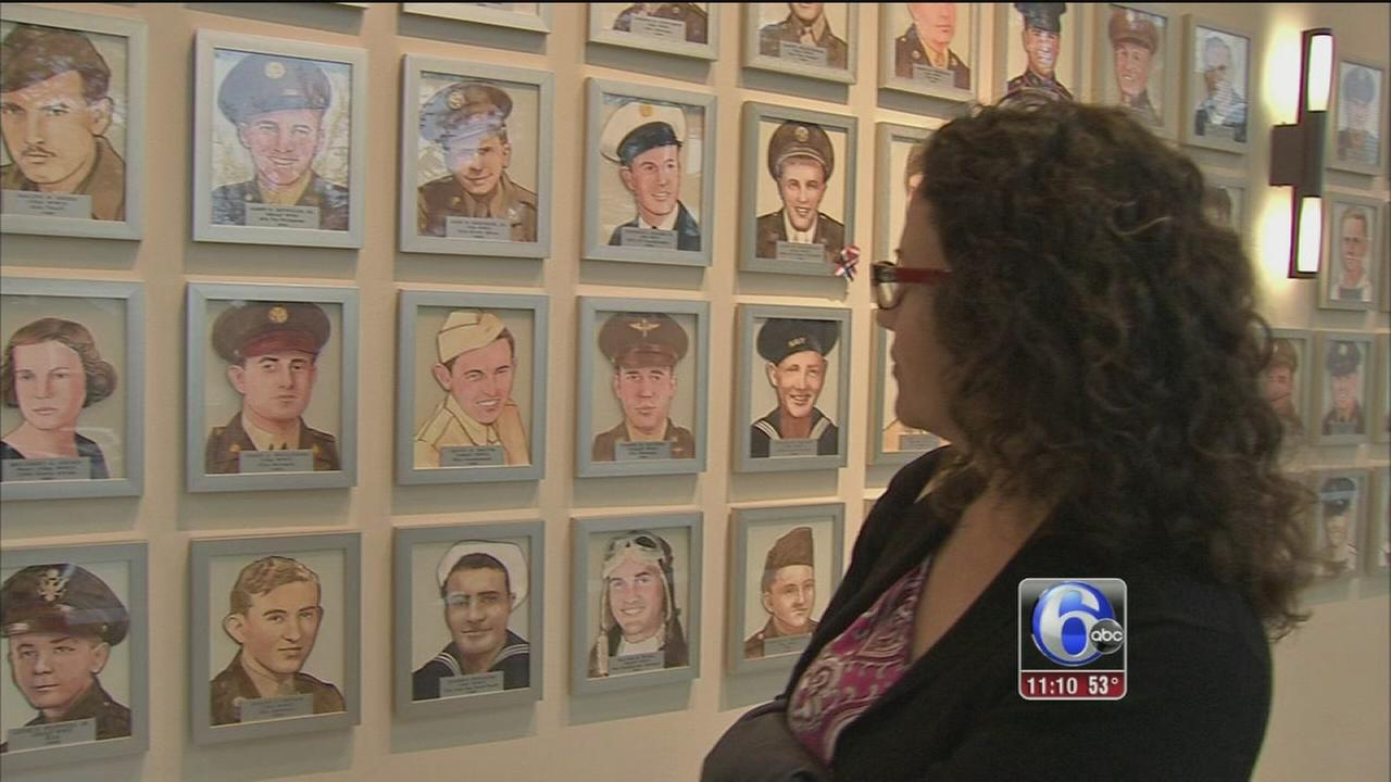 Wall of heroes in Woobury gets larger