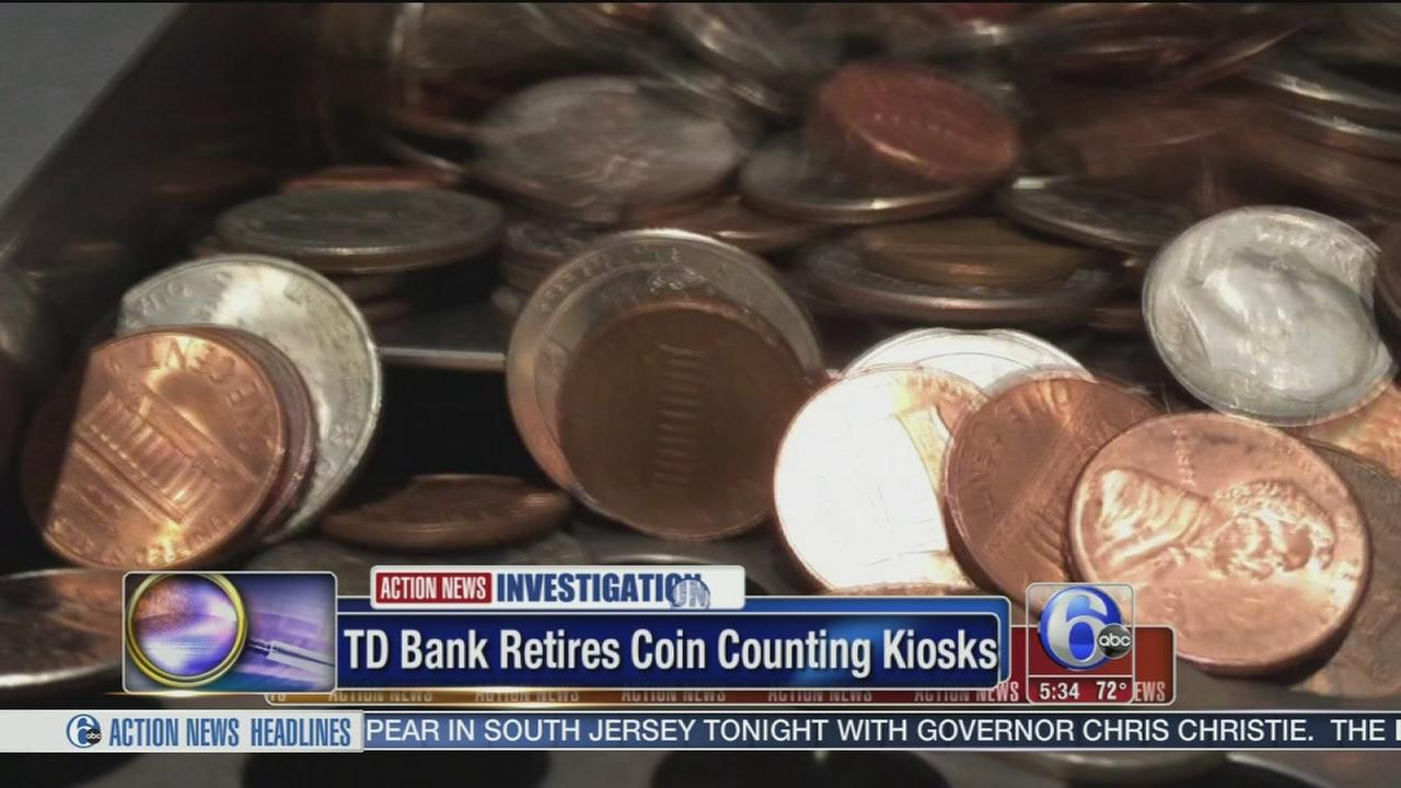 VIDEO: TD Bank retires coin counting kiosks